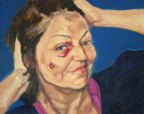 Aua - selbst, 40x50, 2007