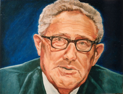 Dr. Henry Kissinger, 70x90, 2006