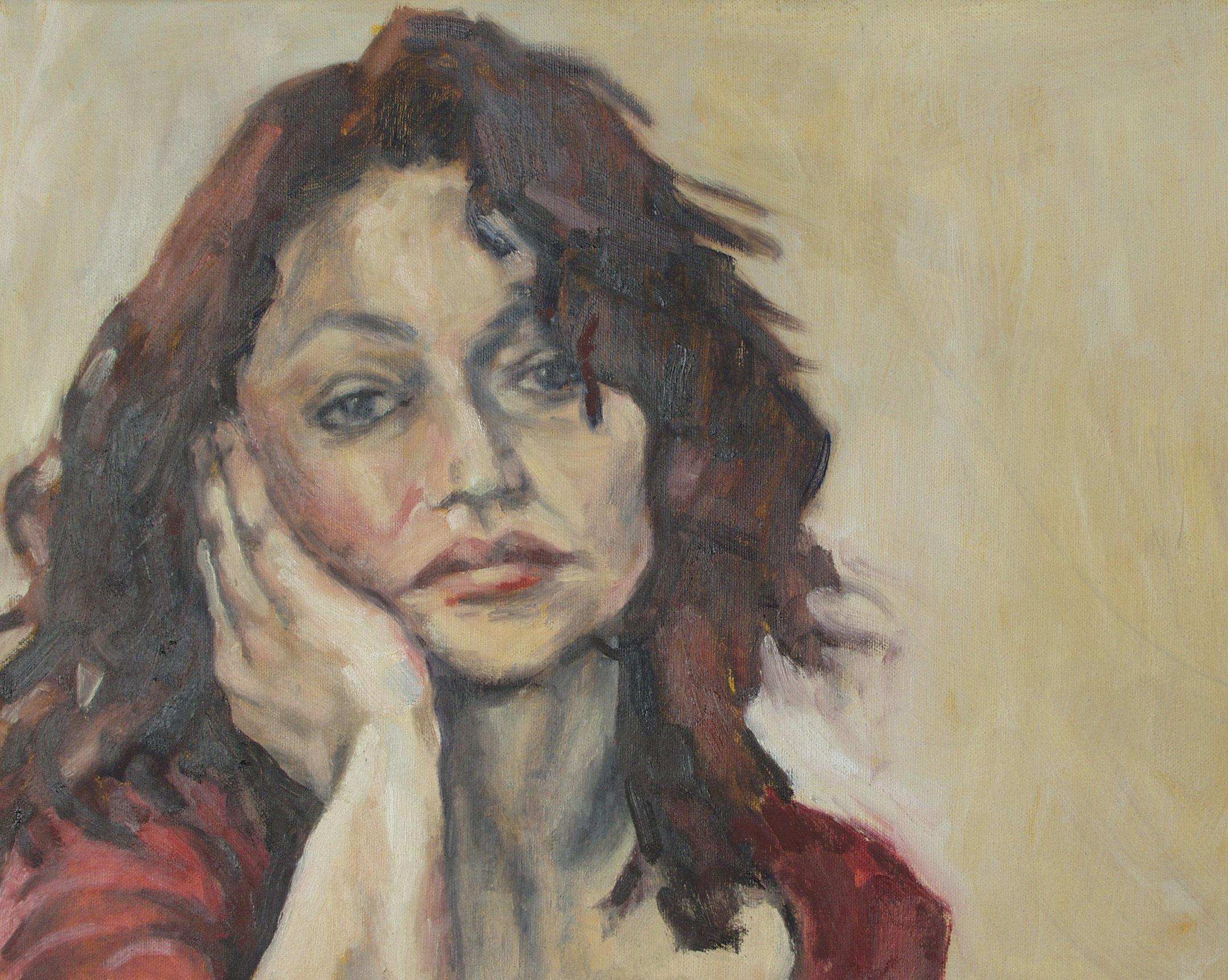 Kleines Selbstportrait, 30x40, 2003