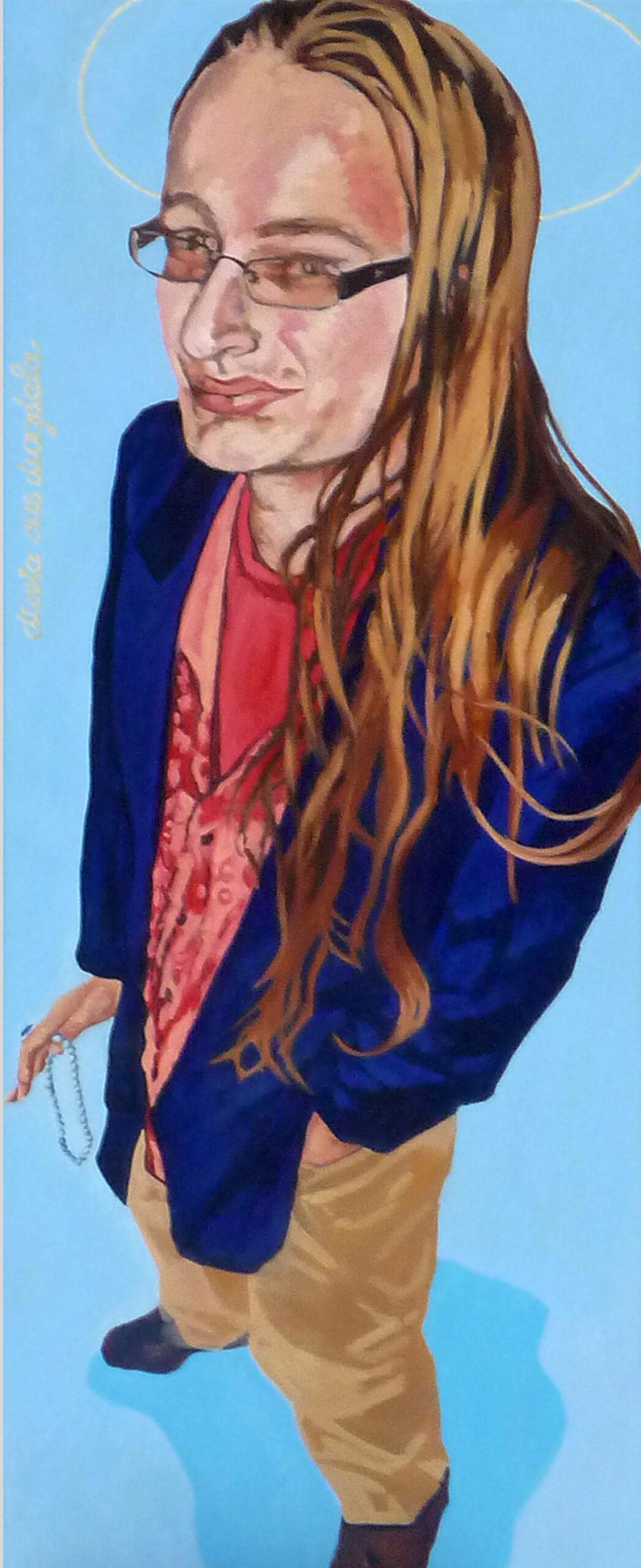 Maria aus Magdala. 150x60, 2009