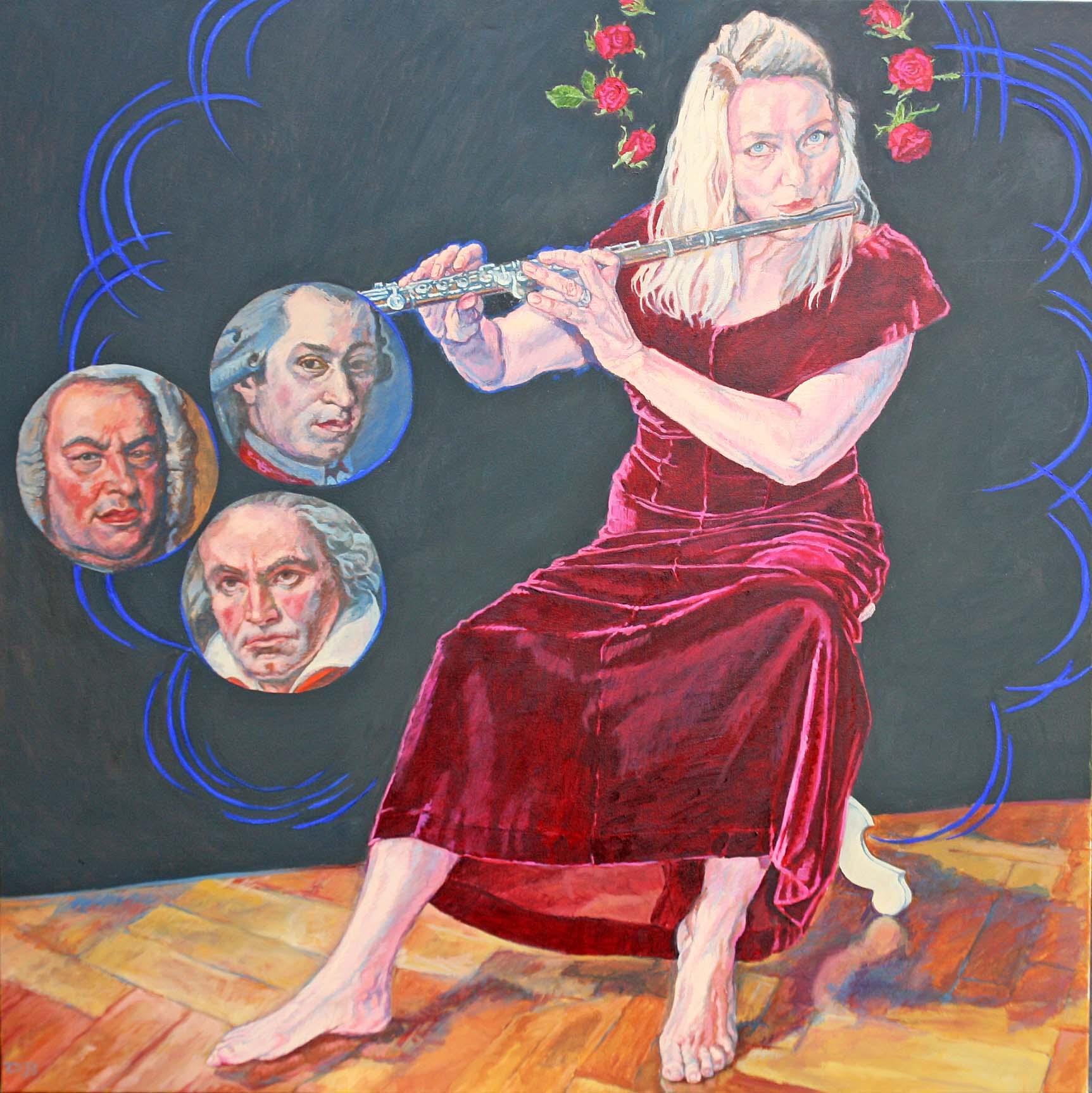 Maria des Klanges, 140x140, 2020
