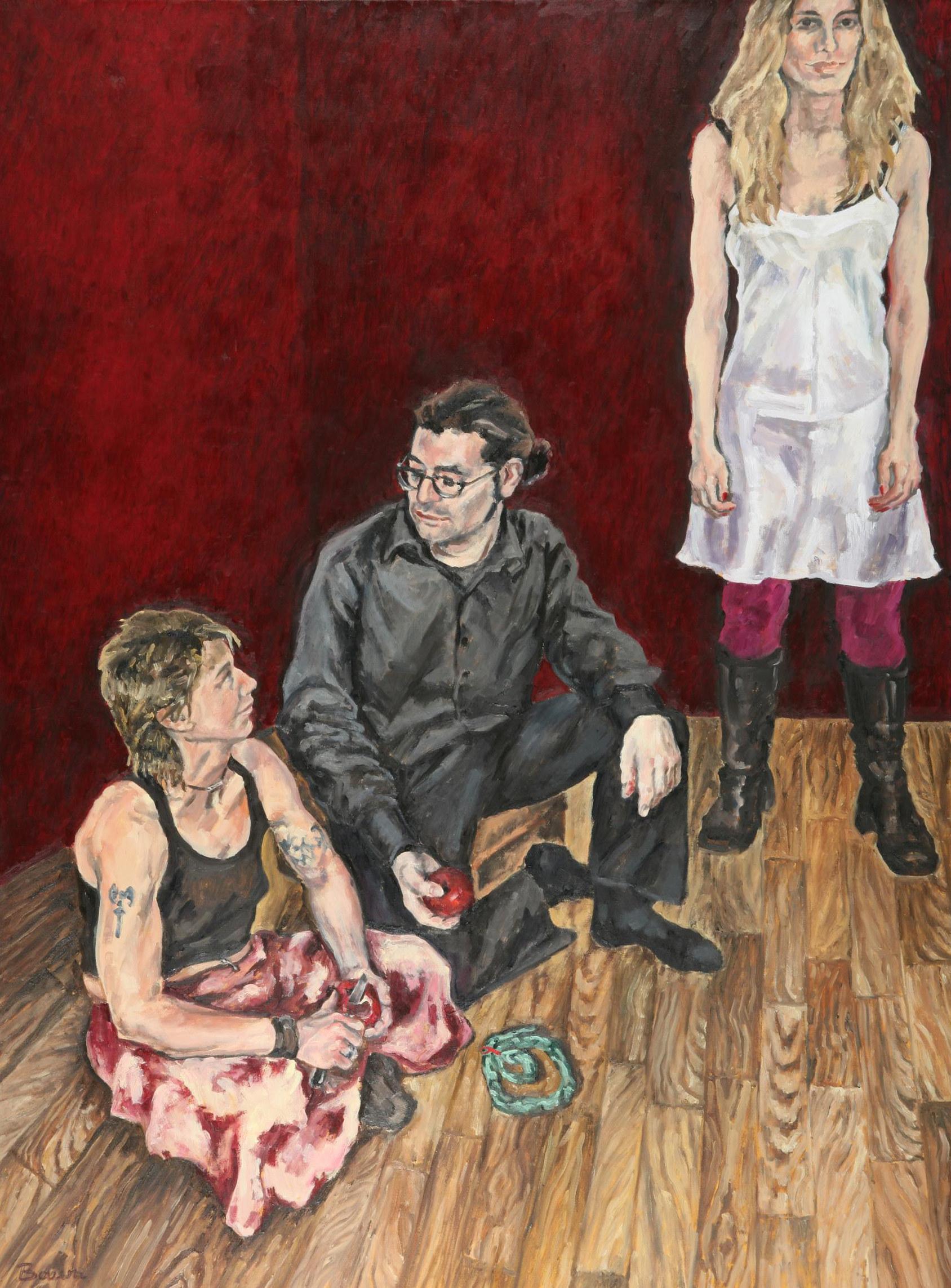 Sie ist wieder da, Lilith!, 170x130, 2006