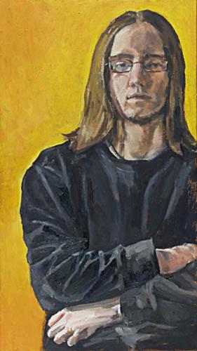 Simon, 80x40, 2003