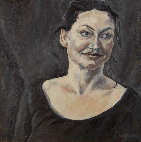 Spinnenfrau bin ich, 50x50, 2006