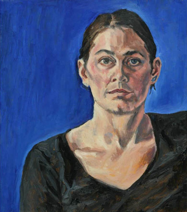 Tanja Völklein - Hebamme, 50x45, 2006