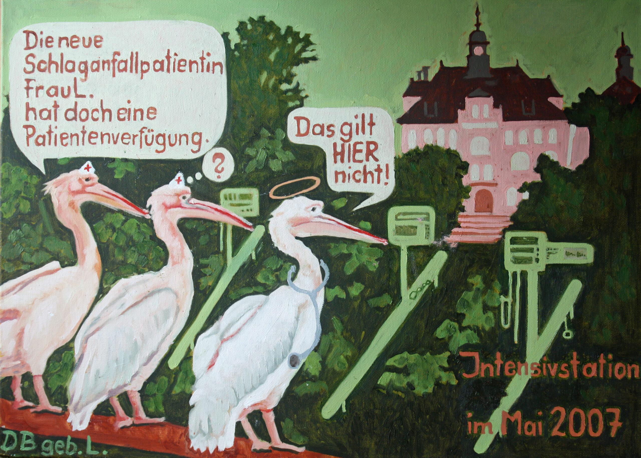 o.T. von D.B.(Krankenhaus Görlitz), geb. L., 50x70, 2014