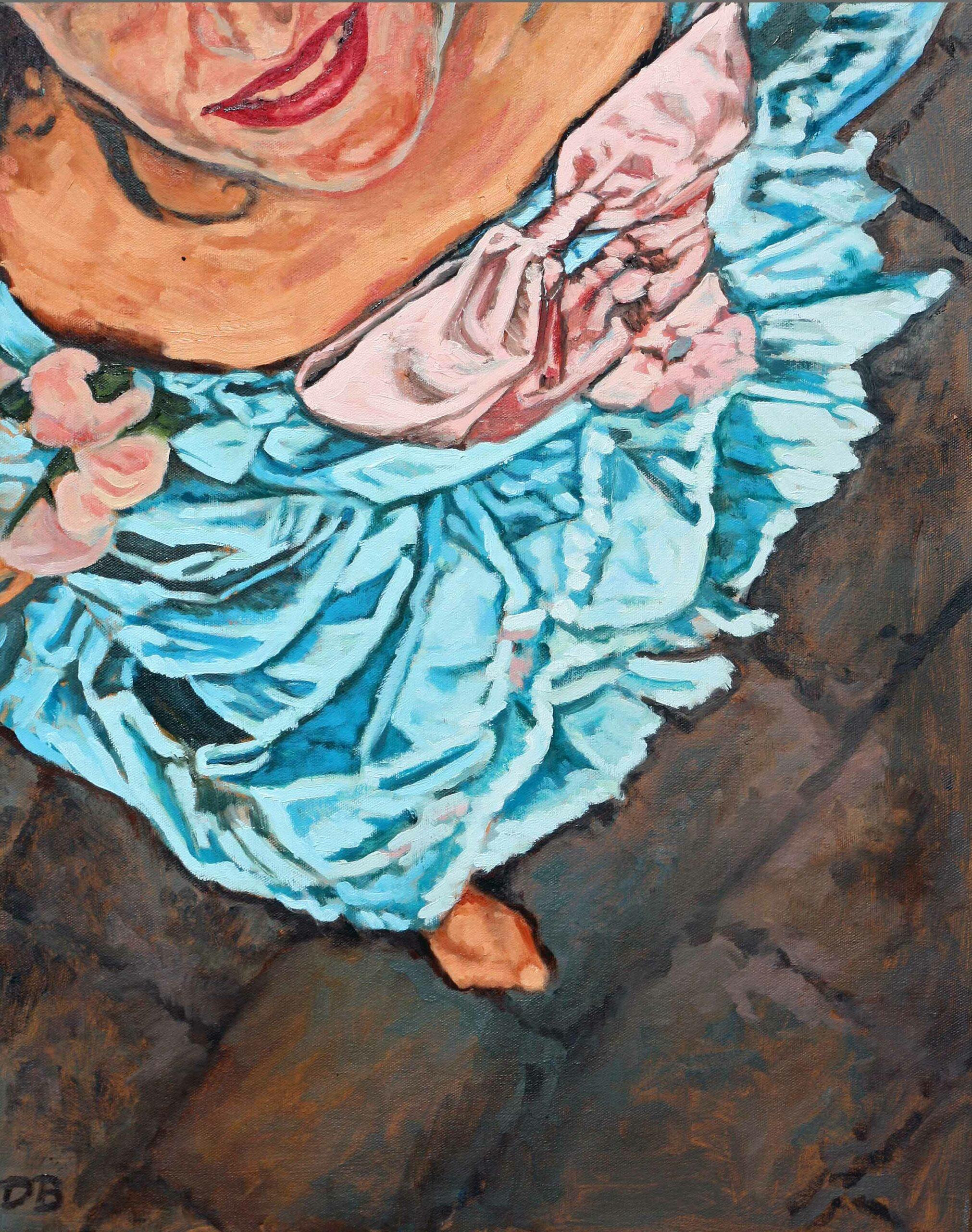Madame De Pompadour, 80x60, 2010